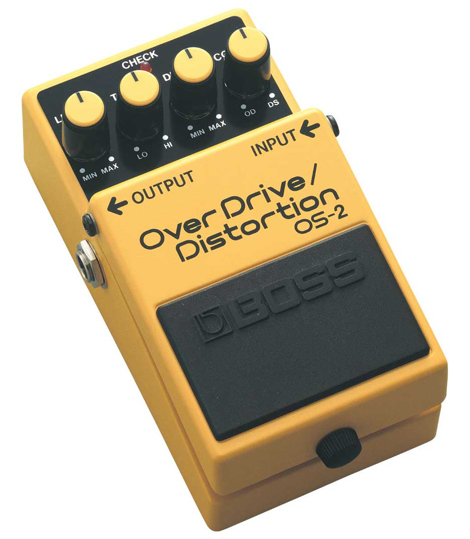 Boss OS 2 Overdrive Distortion Pedal
