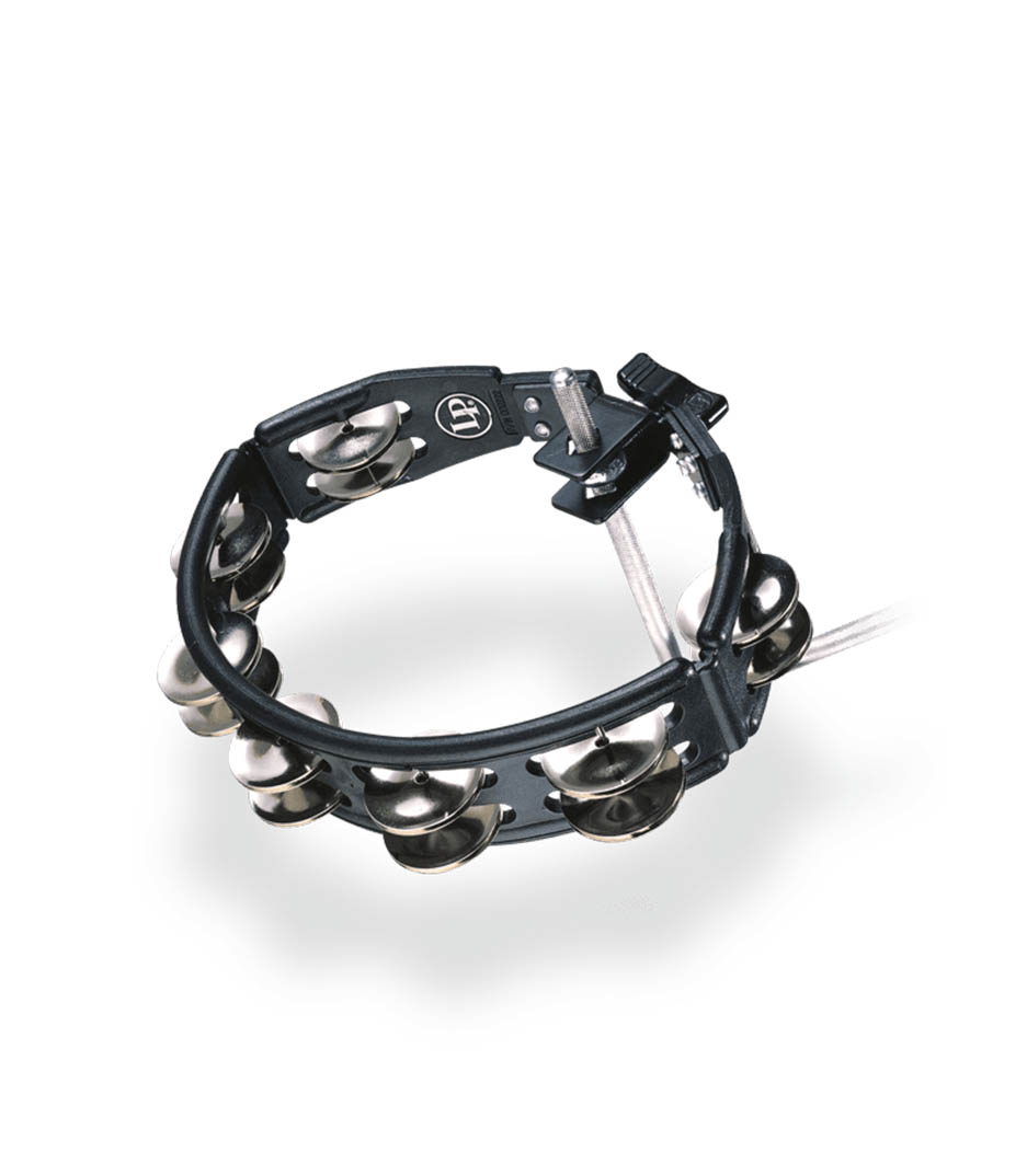 LP Cyclops Tambourine Black Mountable