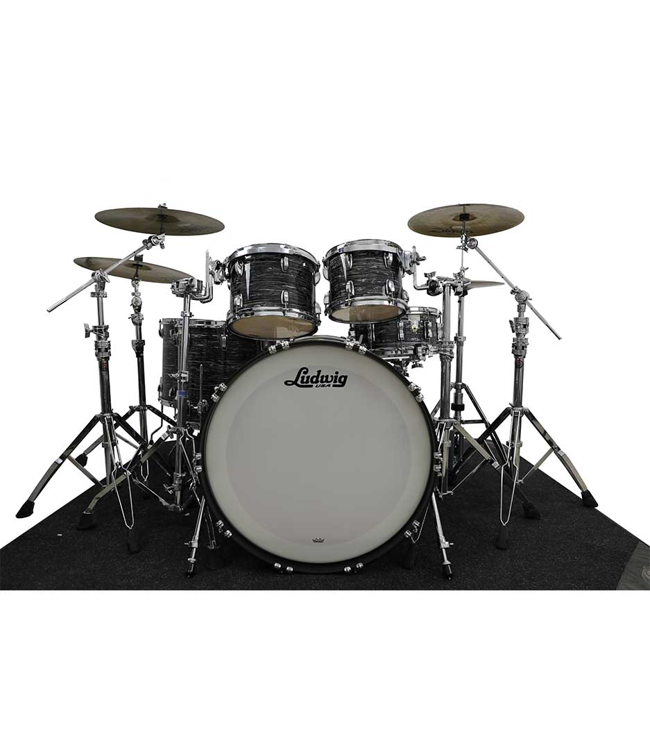 Ludwig Legacy Maple Vintage Black Oyster 6pc Drumkit