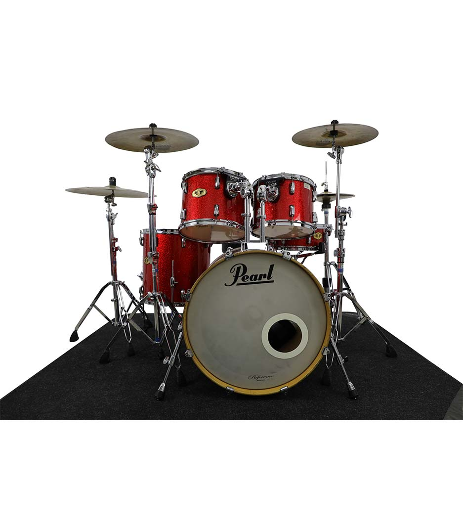 Pearl Vision VMX Red Sparkle 5pc Drumkit