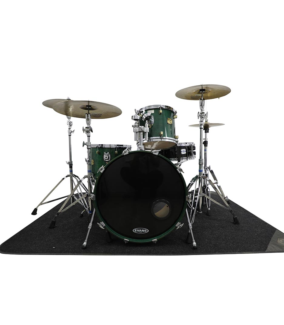 Yamaha Maple Custom Laminated Green 4pc Drumkit