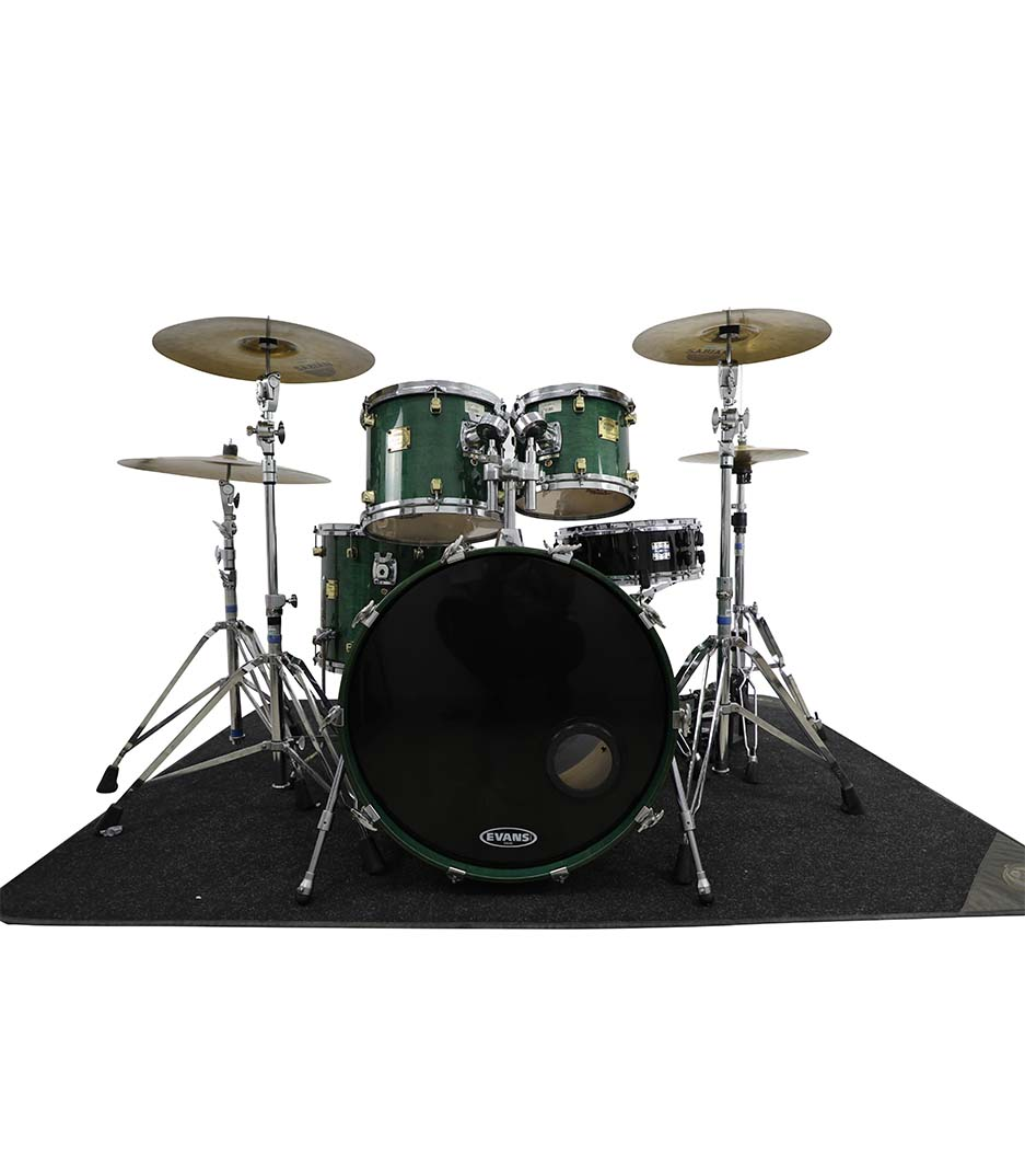 Yamaha Maple Custom Laminated Green 5pc Drumkit