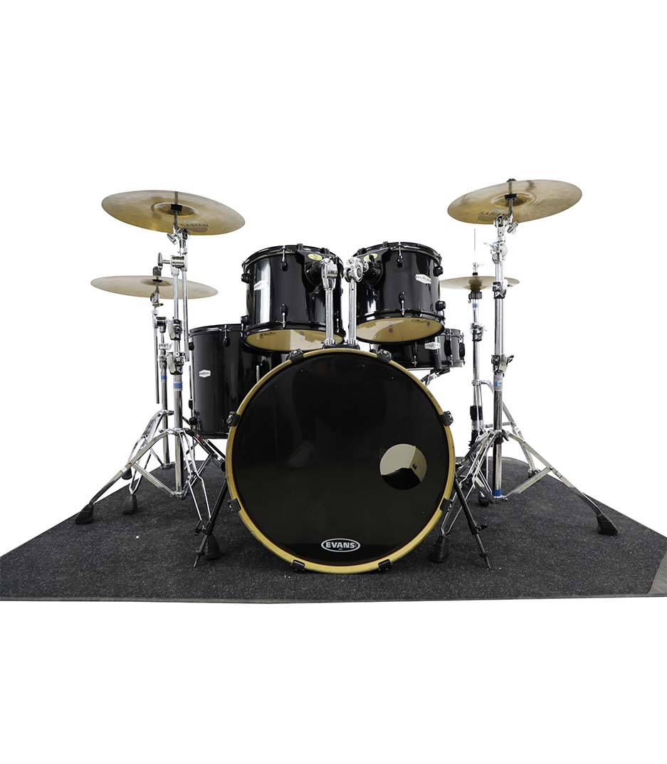 Pearl Forum: Jet Black 5pc Drumkit