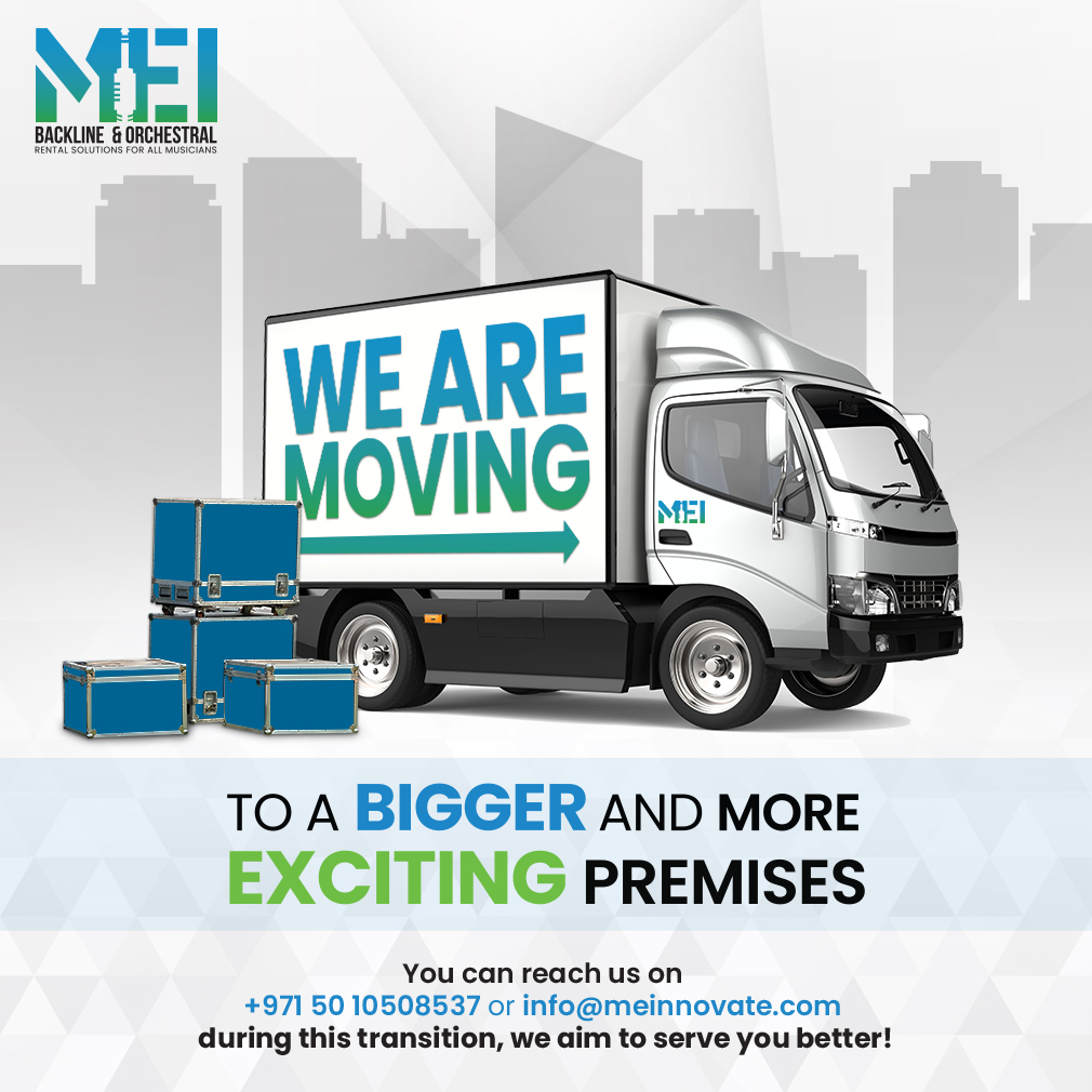 Changing Address - MEI Dubai