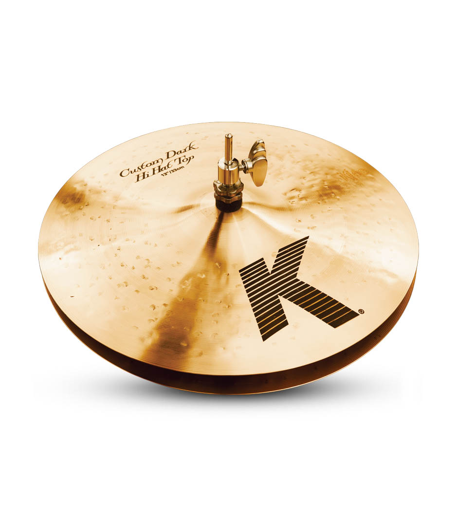 "Zildjian 13"" K Custom Dark Hi Hats"