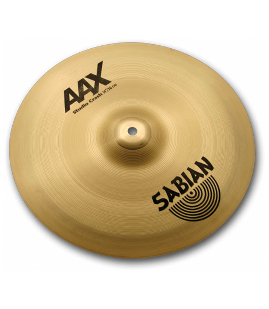 "Sabian 14"" AAX Studio Crash Brilliant"