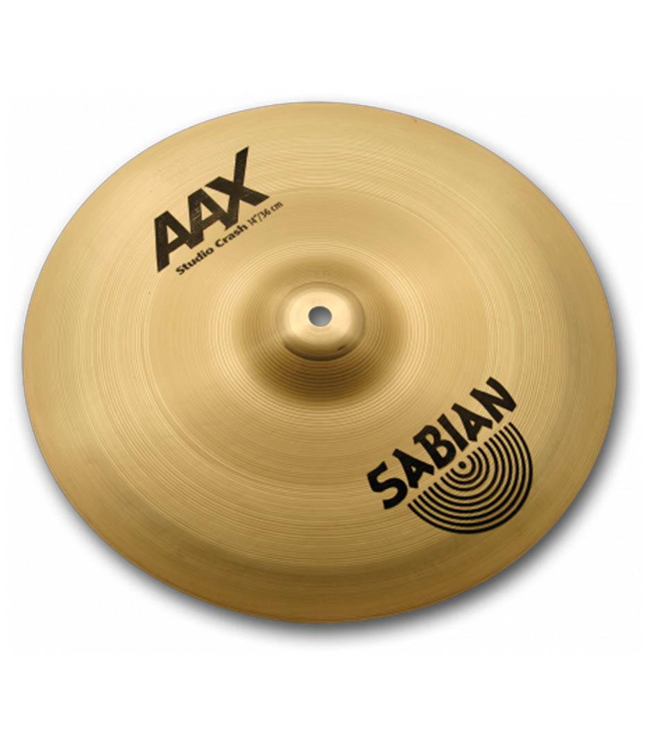 "Sabian 14"" AAX Studio Crash Brilliant"
