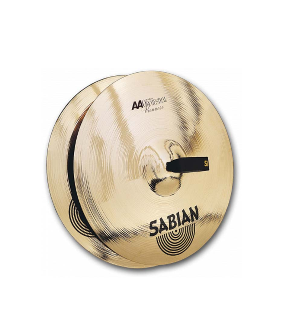 "Sabian 16"" AA Orchestral Viennese Hand Cymbals"
